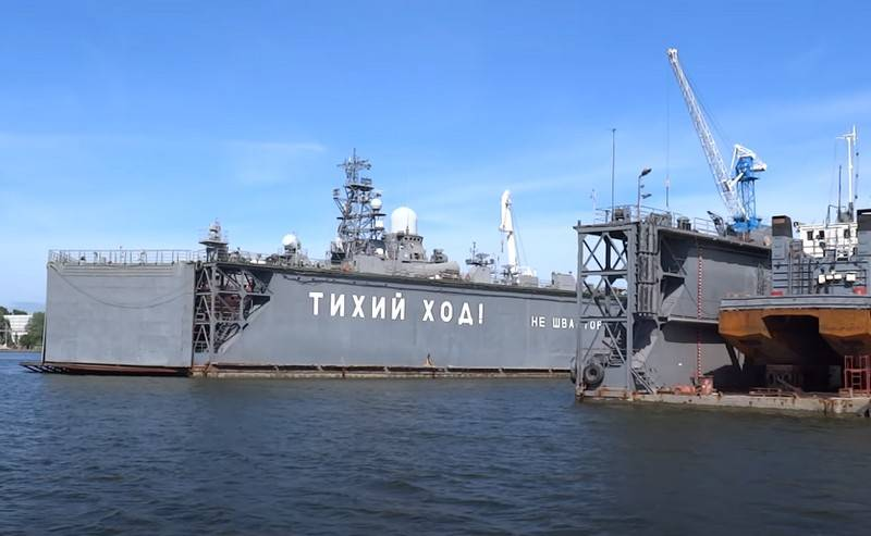 First stage of modernization completed at the naval base in Baltiysk