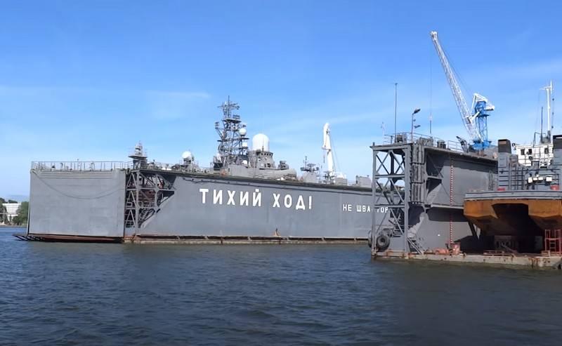 Erste Modernisierungsphase am Marinestützpunkt in Baltiysk abgeschlossen