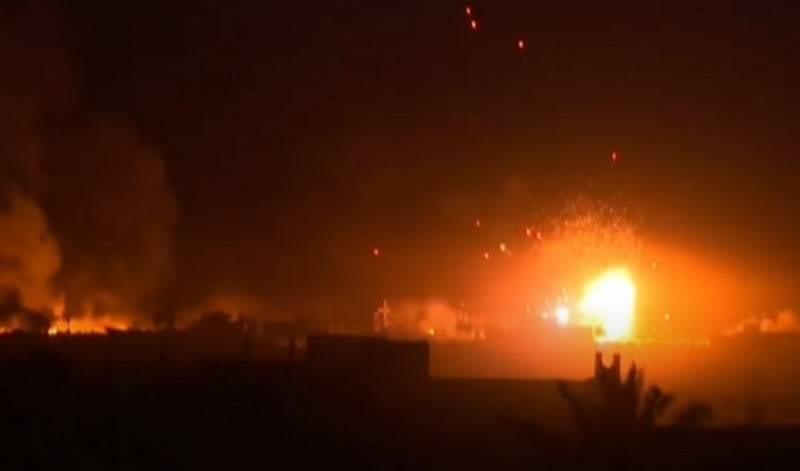 In Syrien als Ziel des israelischen Nachtluftangriffs bezeichnet