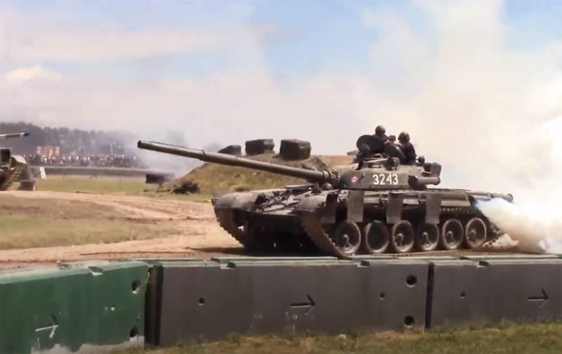 Poles talked about the next modernization of Soviet T-72 tanks