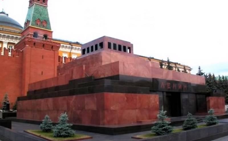 """रूस में """"लेनिन के बिना"""" समाधि के आगे उपयोग की सबसे अच्छी अवधारणा के लिए एक प्रतियोगिता की घोषणा की गई है।"""
