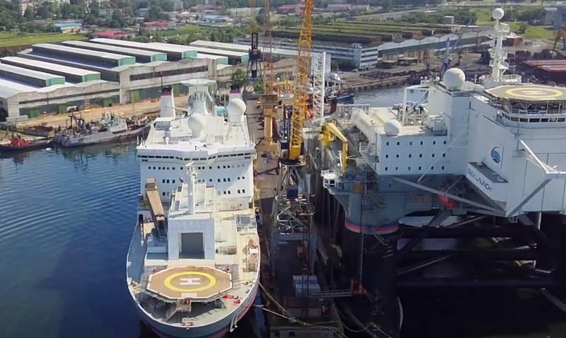 """Rogosin nannte den Zeitpunkt des Beginns der Modernisierung des schwimmenden Kosmodroms """"Sea Launch""""."""