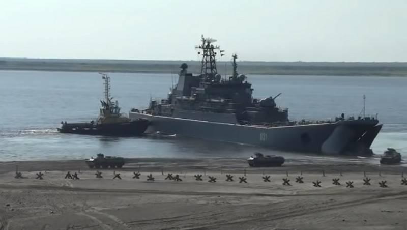 La Flotta del Nord elaborerà lo sbarco vicino all'Alaska