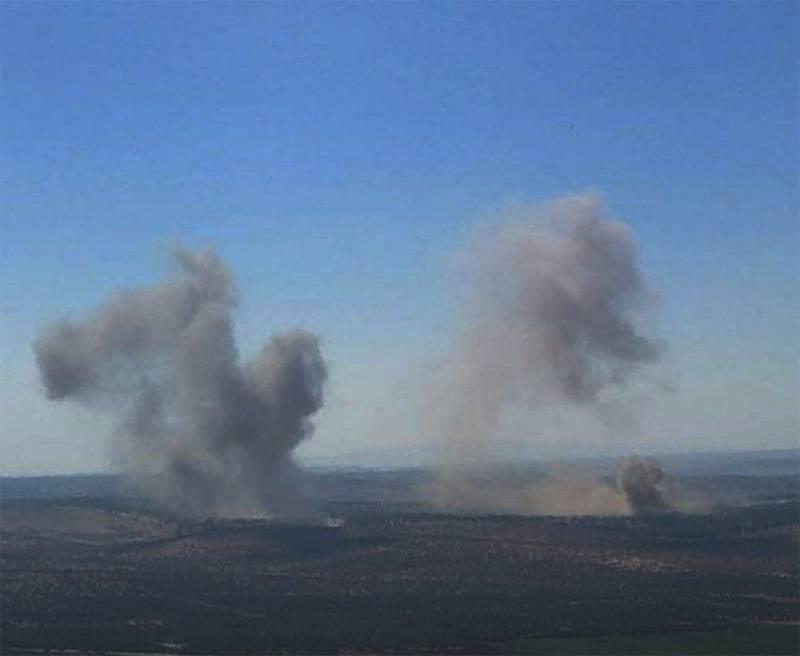 レバノンの報道機関がシリア・イドリブでの過激派に対するロシア航空宇宙軍の主要作戦を発表