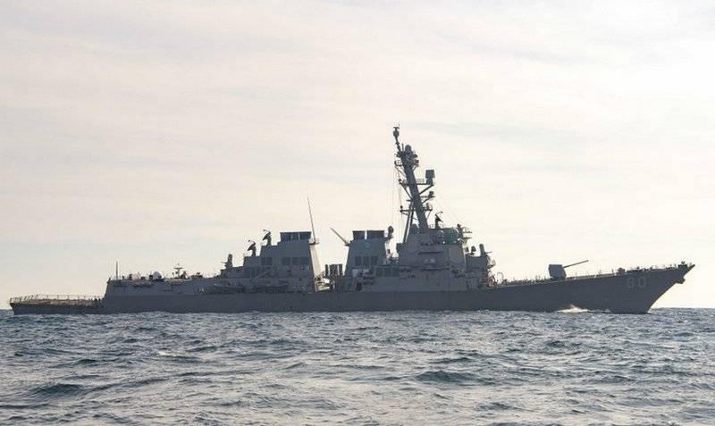 美国海军URO驱逐舰和英国海军侦察舰进入黑海