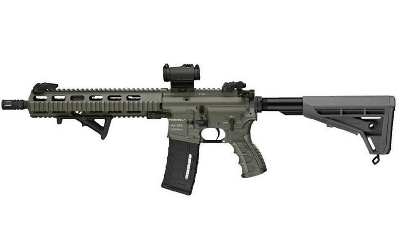 The Bundeswehr re-equipped with a new assault rifle