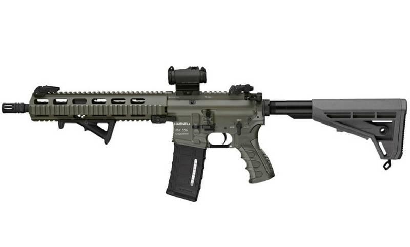 Bundeswehr가 새로운 돌격 소총을 다시 장착했습니다.