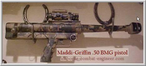 मददी-ग्रिफिन .50BMG पिस्तौल