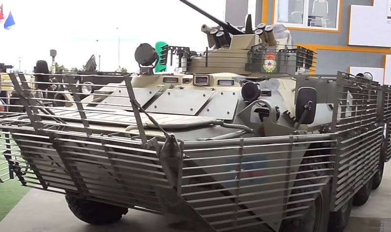 Russian armored vehicles will receive additional protection
