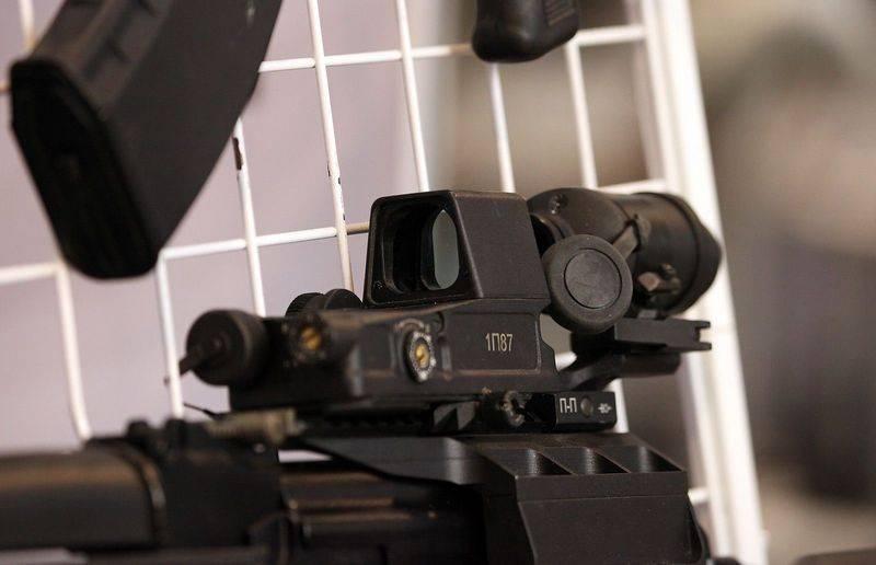 TsNIITOCHMASH a commencé le développement d'un nouveau viseur de collimateur
