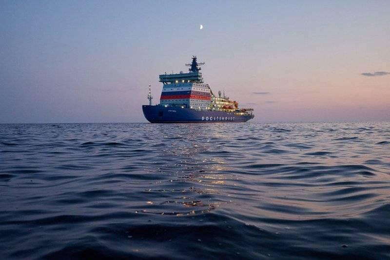 """Der führende Eisbrecher mit Atomantrieb """"Arktika"""" hat die Tests abgeschlossen und ist bereit, in den Norden zu ziehen"""