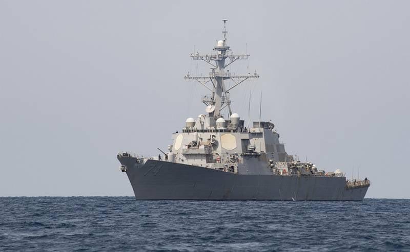 美国海军在北大西洋进行了与俄罗斯潜艇的战斗