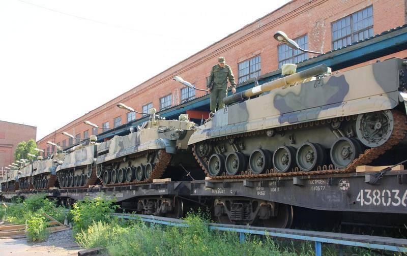 """Kurganmashzavod""예정보다 앞서 국방부와 BMP-3 공급 계약 완료"