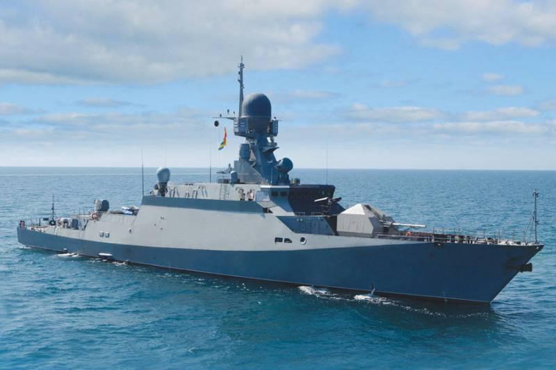 Buyan-M项目的第八个RTO系列进行了海上试验