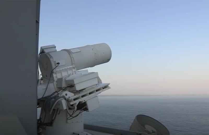 在美国测试舰载作战激光原型机的主要问题