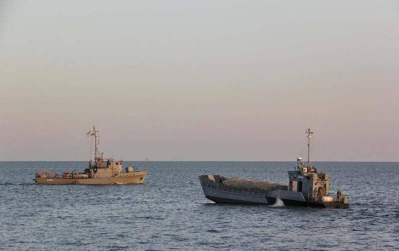 यूक्रेनी नौसेना संयुक्त प्रयास 2020 अभ्यास में शामिल हुई