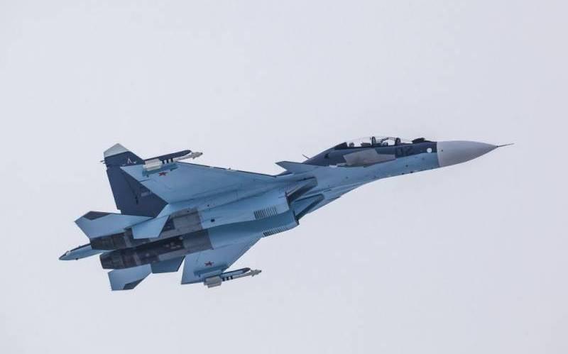Su-30SM战斗机在特维尔地区坠毁