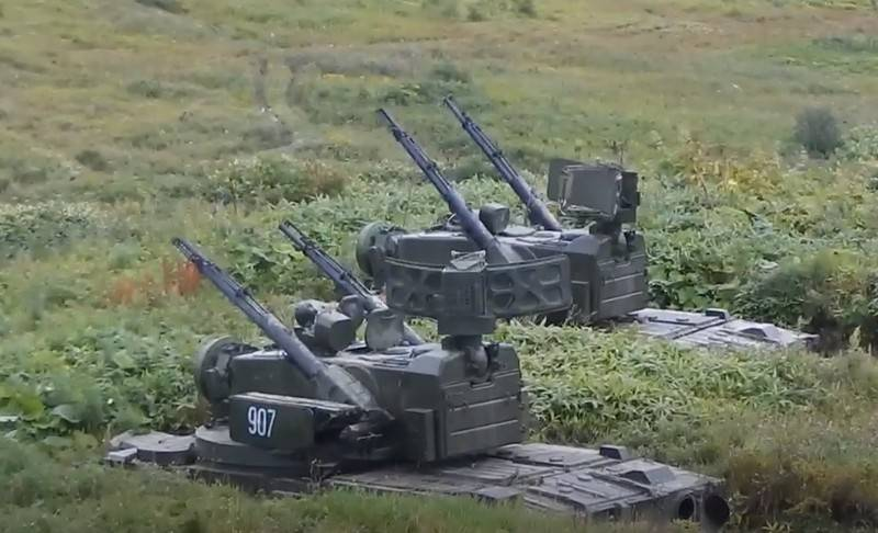 Military exercises on anti-amphibious defense took place in the Kuriles