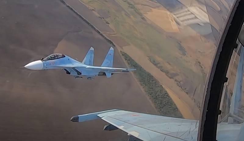 미디어 : 직전에 떨어진 Su-30SM은 우연히 다른 전투기에 의해 격추 될 수 있습니다.