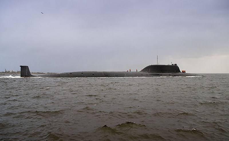 """Das führende Atom-U-Boot """"Kazan"""" des Projekts 885M trat in die nächste Testphase ein"""