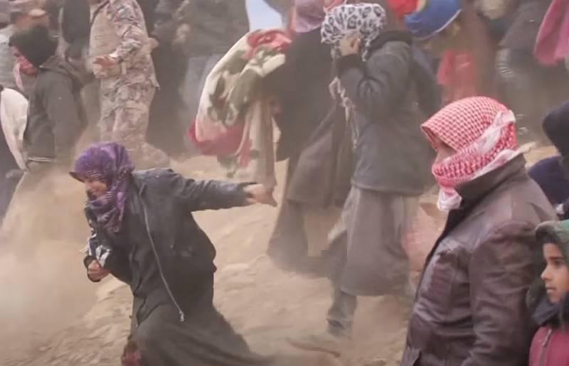Das Verteidigungsministerium warnte vor der Vorbereitung einer Provokation mit chemischen Waffen in Idlib