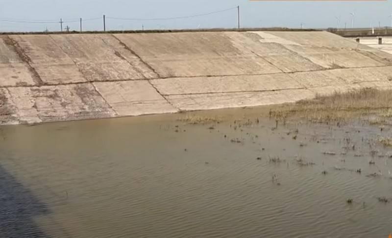 ウクライナは北クリミア運河を封鎖する「完全な権利」を発表しました
