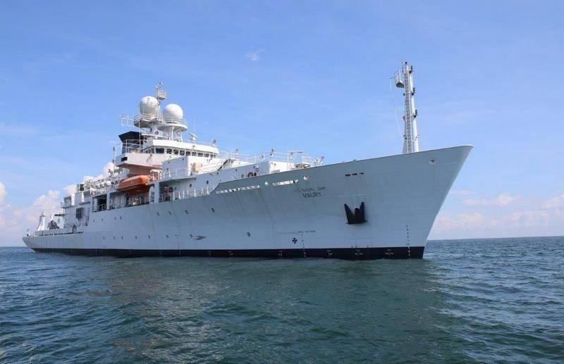 US Navy reconnaissance vessel entered the Baltic Sea