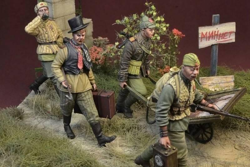 एक पोलिश कंपनी ने दारोगा के रूप में सोवियत सैनिकों के आंकड़ों की एक श्रृंखला जारी की है