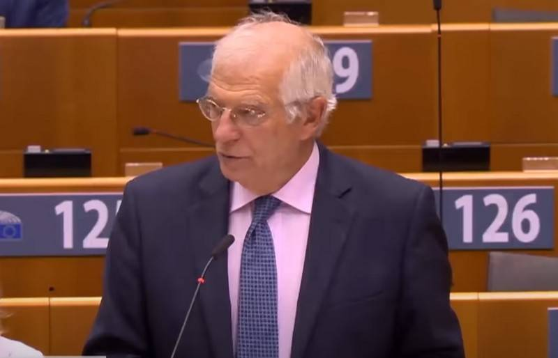 Borell reminded Zelenskiy that the EU is not an ATM for Ukraine