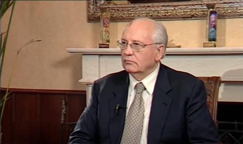 Gorbatchev: Ils se tournent vers moi d'Arménie et d'Azerbaïdjan pour obtenir des conseils sur la façon de sortir de cette situation