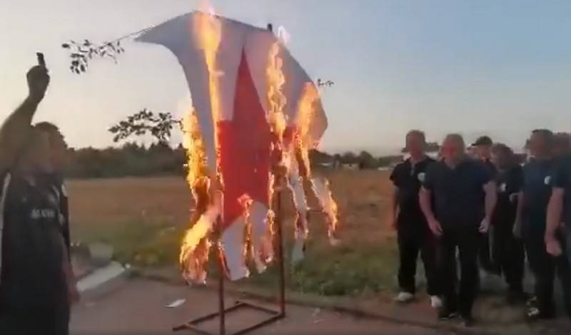"""Symbol of hatred and death"": Croatian ""veterans"" burned five-pointed star"