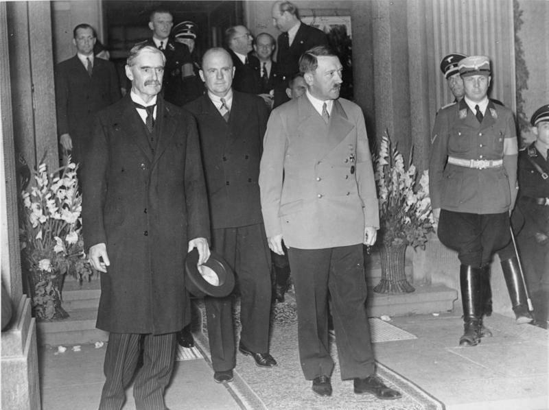 """Anniversario dell'Accordo di Monaco. Una pagina vergognosa nella storia dell'Europa """"democratica"""""""