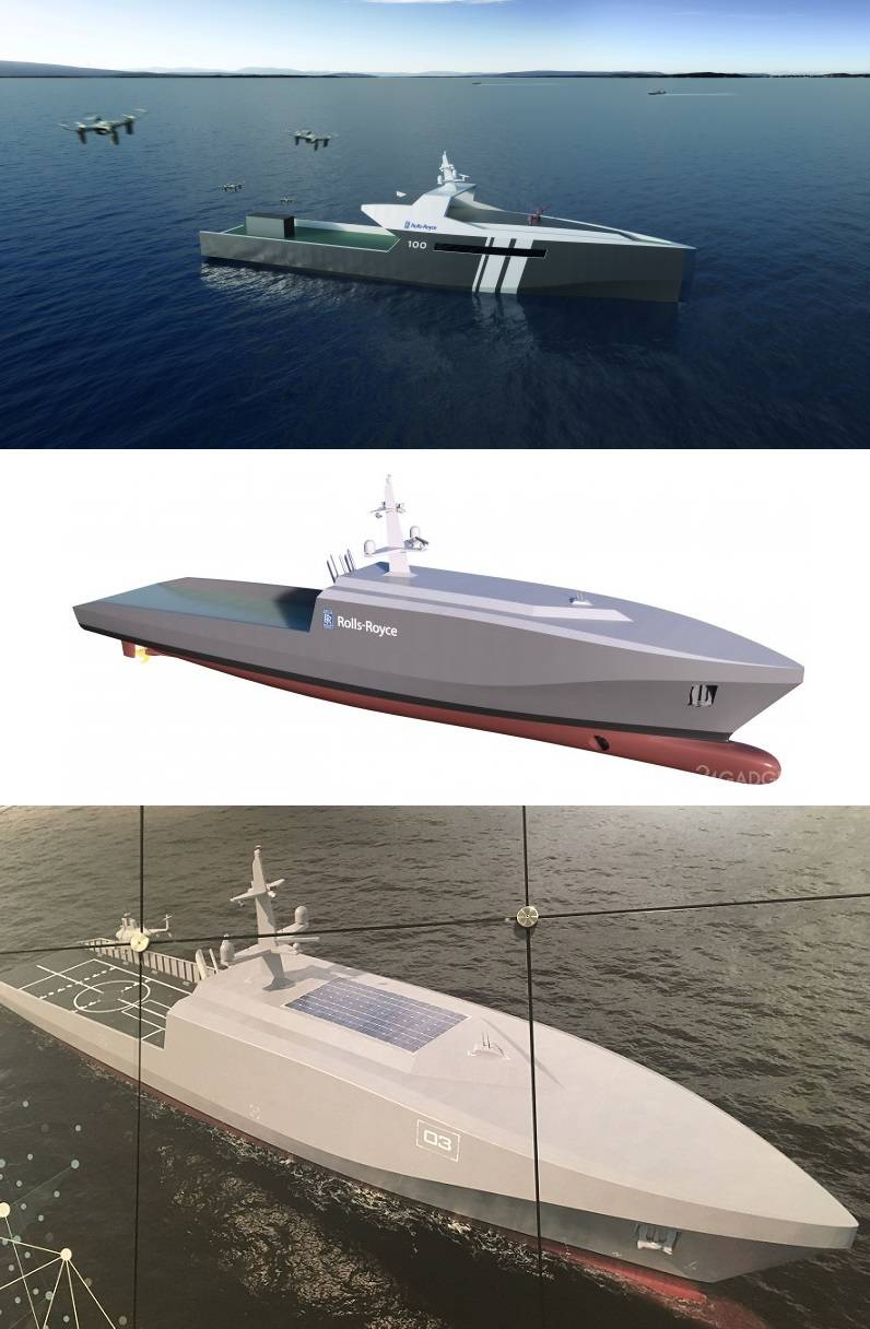 Unmanned surface ships: the threat from the West