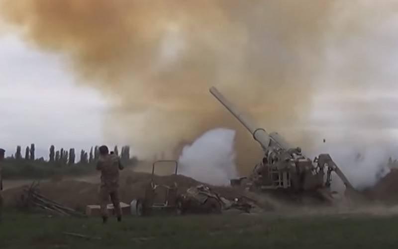 """아르메니아는 Karabakh에서 """"거대한 파괴 반경""""의 무기를 사용할 준비가되었습니다."""