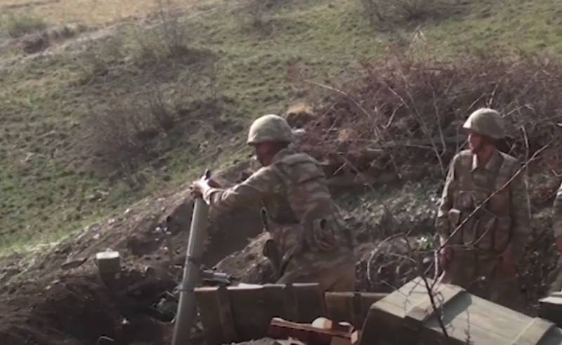 Azerbaijan announced large losses of the Armenian army in Karabakh