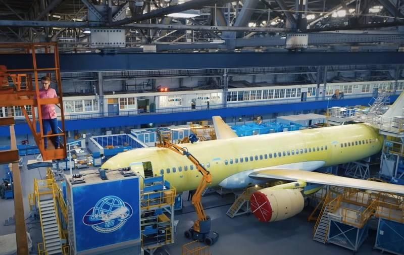 Il ministero dell'Industria e del Commercio ha annunciato l'interruzione della fornitura di componenti estere per aeromobili civili