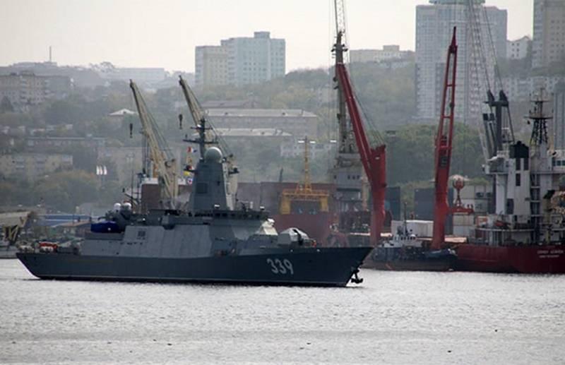 "Corvette of project 20380 ""Aldar Tsydenzhapov"" went to sea trials"