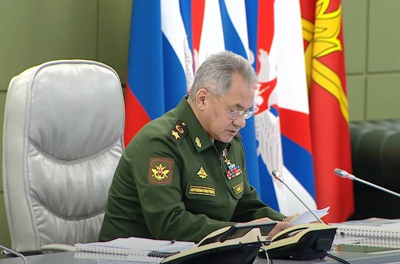 Shoigu summed up the results of the fifth anniversary of the military operation in Syria