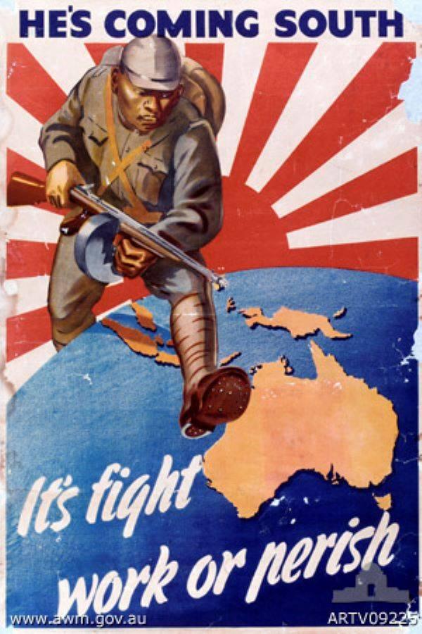 Und Australien, das sich ihnen angeschlossen hat ...