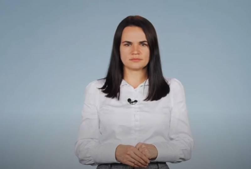 «Поддержите белорусский народ»: Тихановская из Вильнюса обратилась к россиянам