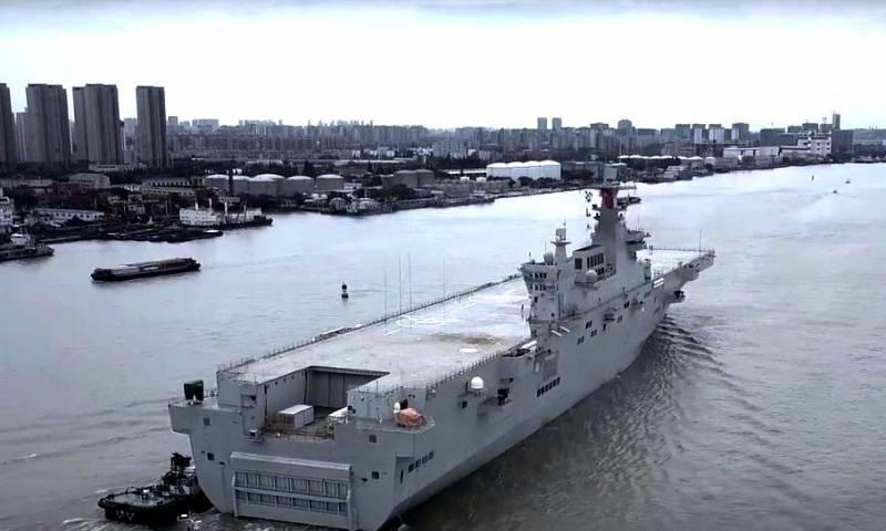 В Китае рассказали, как планируют использовать УДК проекта Type 076