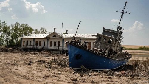 Volga grows shallow