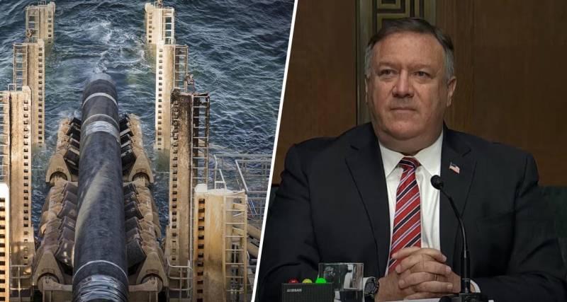 Помпео: США создают коалицию для предотвращения строительства «Северного потока-2»