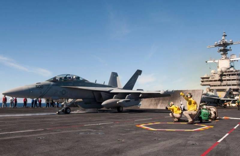 В США испытывают новое оборудование РЭБ для самолета EA-18G Growler