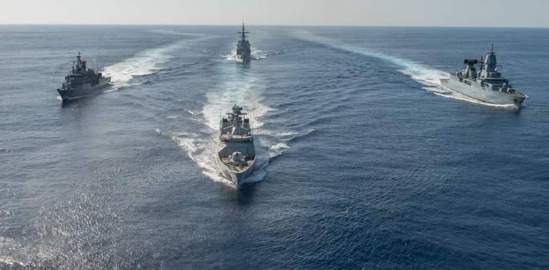 Эффективность ПВО корабельной ударной группы