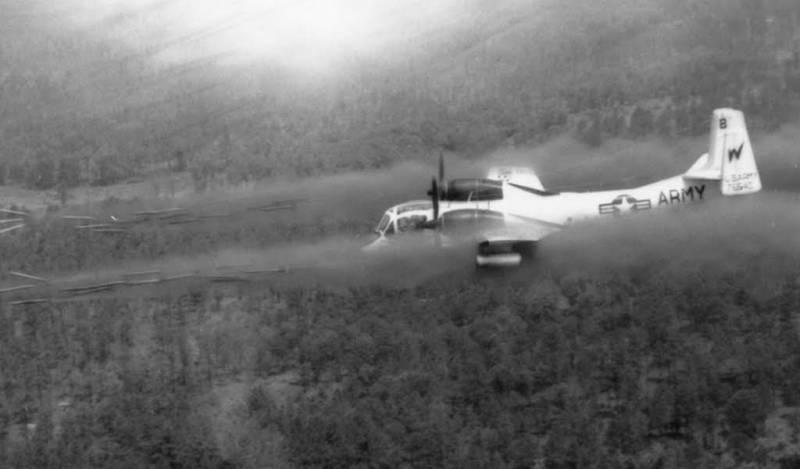 Лёгкие турбовинтовые штурмовики: опыт Вьетнама