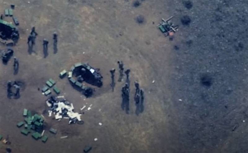 They move as if in the deep rear: shots of the front positions of the Armenian troops from the drones of Azerbaijan