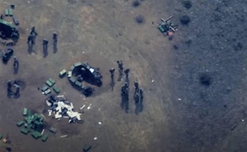 Si muovono come nelle retrovie profonde: colpi delle prime posizioni delle truppe armene dai droni dell'Azerbaigian