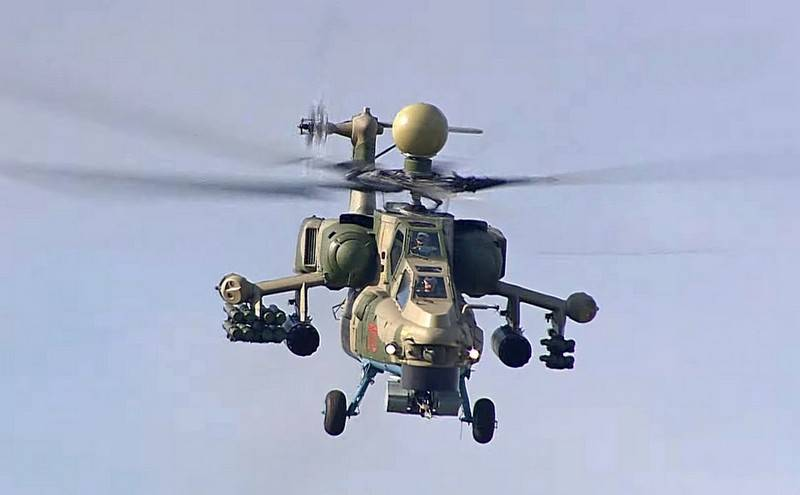 Russian helicopters will be able to use kamikaze drones