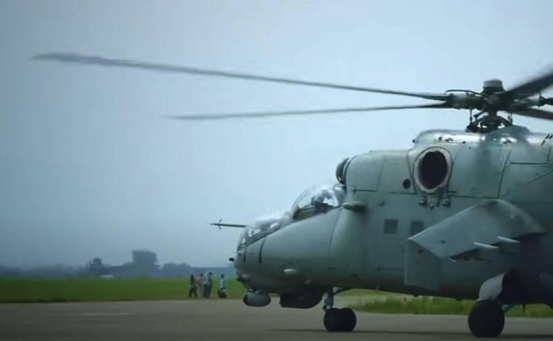NKR, 아제르바이잔 군대의 공격 헬리콥터 첫 사용 발표